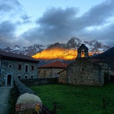 Sunset in Picos de Europa