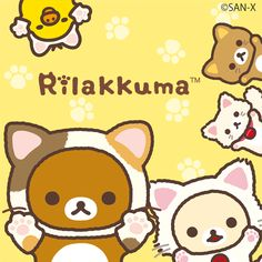 もっと♪のんびりネコテーマ ネコテーマ第2弾!10月に発売決定です! のんびりとしたネコの生活に憧れるリラックマたちは、ある日とあるネコカフェへやってきました。。。。 http://www.san-x.co.jp/blog/goods/2015/10/rlk.html … #のんびりネコ
