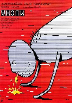 Incredible Film Posters From Poland: The Fly
