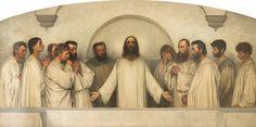 La priere sacerdotale(Eugene Burnand Museum)