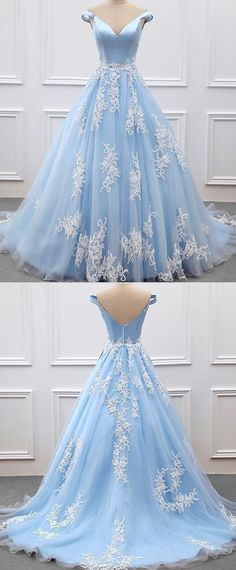 Eleg Glamour Evening Dresses Floor length A-Line Prom Dresses Appliques Tulle Prom Gowns A-Line Evening Dresses, Prom Dress, Appliques Prom Dress Prom Dresses 2019 A Line Prom Dresses, Tulle Prom Dress, Formal Dresses For Women, Cheap Prom Dresses, Quinceanera Dresses, Ball Dresses, Homecoming Dresses, Ball Gowns, Evening Dresses