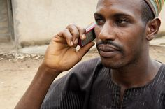Ismail on mobile telephone