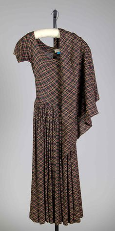 Claire McCardell   Dress  American 1948  Wool