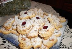 A nagyi linzere Pastry Chef, Biscuits, Food And Drink, Xmas, Yummy Food, Sweets, Cookies, Cake, Recipes