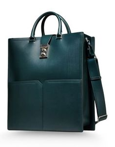 I really like JIL SANDER bag for its shape and color