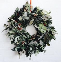 Christmas wreath by Soho House