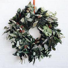 Christmas wreath by Soho House