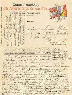 Correspondance des Armées de la République - H. Briselin à Mutry pour Louise Grelier à Soucelles le 11 décembre 1914 (from http://mercipourlacarte.com/picture?/1076/)