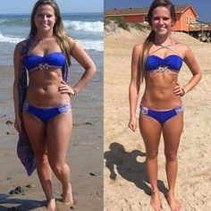 Burn 4 kg of fat and lose 16 cm of your waist in only 4 days is possible thanks to this miraculous recipe! Fitness Tips, Fitness Motivation, Health Fitness, Fitspiration Body, Detox, Dream Bodies, Kayla Itsines, Muscular, Cardio