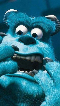 Disney Phone Wallpaper, Cartoon Wallpaper Iphone, Cute Cartoon Wallpapers, Iphone Wallpapers, Iphone Cartoon, Monster Inc Wallpaper, Disney Art, Disney Pixar, Wallpaper Sky