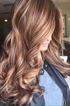 You have to check out the tiger eye hair color, it's so sophisticated and trendy!