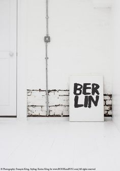 Berlin print by Bodie and Fou — Bodie and Fou - Award-winning inspiring concept store