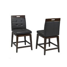 Zivah 24 Swivel Bar Stool (Set of By Latitude Run