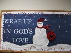 Winter bulletin board for churchYou can find Winter bulletin boards and more on our website.Winter bulletin board for church Religious Bulletin Boards, Bible Bulletin Boards, Christian Bulletin Boards, Winter Bulletin Boards, Preschool Bulletin Boards, Bullentin Boards, Christian Classroom, Catholic Schools Week, Bulletins