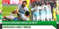 Antalyada A Milli diriliş : Dünya Kupası Avrupa Elemeleri 4.hafta maçında Türkiye ile Kosova karşı karşıya geldi. Kritik mücadeleyi Türkiye 2-0 kazandı.  http://www.haberdex.com/turkiye/Antalya-da-A-Milli-dirilis-/79525?kaynak=feeds #Türkiye   #Türkiye #karşı #Kosova #karşıya #Kritik