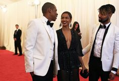 The Carters - Met Ball 2014 The Met Gala Red Carpet Photographed by Phil Oh - Vogue Daily - Fashion and Beauty News and Features - Vogue