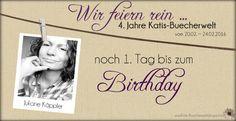 Katis-Buecherwelt: [GEWINNSPIEL] Wir feiern rein ... 4 Jahre Katis-Bu...