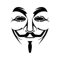 "A Guy Fawkes / Alan Moore and David Lloyd's V for Vendetta mask and a paraphrased ""Remember, Remember the of November…"" quote for Occupy protesters. Art Clipart, Vector Art, Masque Anonymous, Anonymous Maske, Guy Fawkes Night, Guy Fawkes Mask, Stencils, Stencil Art, Stencil Graffiti"