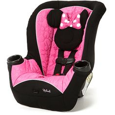 Minnie Mouse Car Seat is the perfect baby seat car. This Disney car seats perfect addition for baby.Car Seats are needed to protect your baby and infant car seat is the law. All you need is your baby blanket and car seats and you're good. Disney Cars, Baby Disney, Disney Mickey, Disney Mouse, Minnie Mouse Car, Mickey Mouse And Friends, Minnie Mouse Nursery, Pink Minnie, Disney Nursery