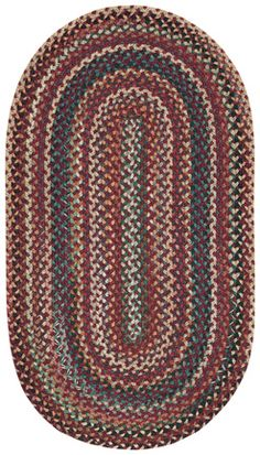 Save On Bear Creek Heritage Red Rugs Choose Beautiful Braided Casual From Capel America S Rug Company