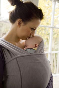 Close Parent: Caboo Carrier. Would love to snuggle with this for Baby No. 2- lovely!