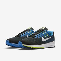 pretty nice 07912 2a211 Nike Air Zoom Structure 20 Extra Wide Black Photo Blue Ghost Green White  Sale UK. TenisHombresNike FreeNike Air MaxZapatos