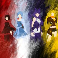 I need this as a poster! I love how the first three look like the French flag, and then there's Yang...