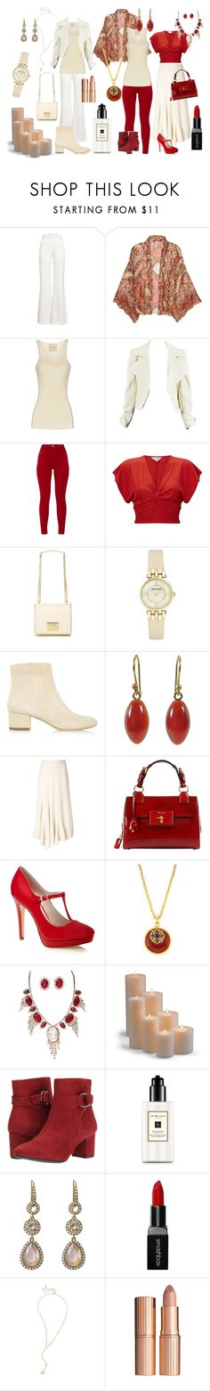 """""""Rachel's Zyla Colors 1"""" by laura-winters-1 on Polyvore featuring Galvan, Free People, Erika Cavallini Semi-Couture, Miss Selfridge, Love Moschino, Anne Klein, Halston Heritage, Ted Muehling, Ports 1961 and Jose & Maria Barrera"""