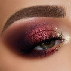 makeup morphe 350 when makeup eye makeup with red lips makeup names makeup model makeup looks for brown eyes makeup hand makeup for 48 year olds Copper Eye Makeup, Fall Eye Makeup, Eye Makeup Art, Gold Makeup, Makeup For Brown Eyes, Makeup Inspo, Makeup Inspiration, Makeup Tips, Makeup Ideas