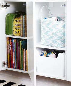 Storage for kid's room (by Ikea)