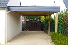 Car Shelter, Canopy Shelter, Car Shed, Shed Roof, Carport Adossé, Garages, Instant Garage, Car Canopy, Wooden Brackets
