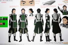 Legend of Korra Book 4 Concept Art - Kuvira