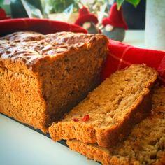 Glutenfria godsaker: Glutenfritt julmustbröd med lingon