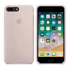 Apple Silikonskal till iPhone 8 7 Pink Sand Originaltillbehör speciellt  designat av Apple för din f48b6363cf9d8