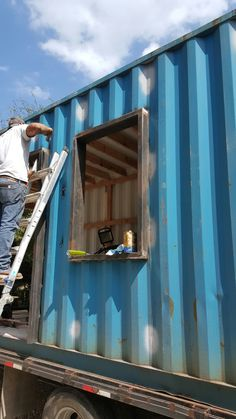 Shipping Container Tiny – 512-736-5689 TinyCozyHomes @gmail.com