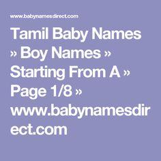 Hindu Boy Names List Pdf