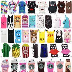 Hot Cute Kawaii Cartoon Soft Silicone Phone Case For Iphone 8 Plus Iphone 8, Coque Iphone, Iphone Phone Cases, Samsung Cases, Iphone 7 Plus, Samsung Galaxy, Funny Iphone Cases, Cute Phone Cases, Silicone Phone Case