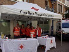 Cruz Roja Margen Izquierda cubriendo Carrera Cadetes Ciclista en Portugalete y X Milla Adepol, a favor de Cruz Roja.
