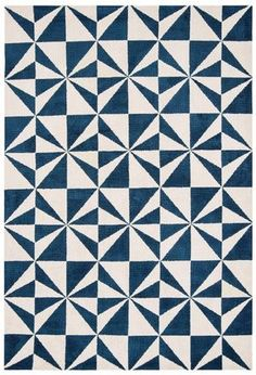 Arlo AR02 Mosaic Denim Rugs - Buy AR02 Mosaic Denim Rugs Online from Rugs Direct