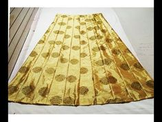 Long Skirt, Ghagra Cutting And Stitching - YouTube