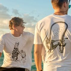 Animals steal back from humans   We love these humorous tees from @highstclothing that convey a theme of endangered animals stealing back from humans. The organic tees are drawn with a ballpoint pen before being screen printed here in Perth. So not only are these babies cool relevant and stylish they are also HANDMADE. That's what we are all about  Visit Jamie at our Feb markets! . . . #perthmakersmarket #makersgunnamake #craftsposure #makerslife #makersgonnamake #makersmovement #perthisok…