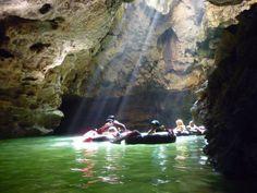 Cave tubing in Goa Pindul, Jogjakarta Yogyakarta, Goa, Cave, Travel Destinations, Waterfall, Earth, Explore, Awesome, Places