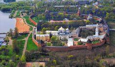 Новгородский кремль - история России
