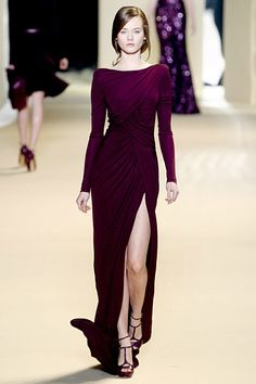 With a shorter hemline, would be wonderful for tango! Elie Saab