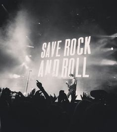 Save rock and roll