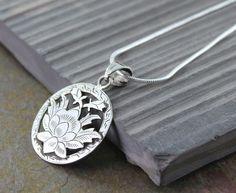 Dharmashop.com - Sterling Silver Lotus Pendant , $42.00 (http://www.dharmashop.com/sterling-silver-lotus-pendant/)