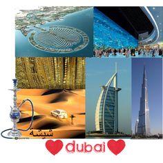 Favorite places: Dubai, created by simarik on Polyvore
