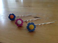 Lego Flower Hair Pin