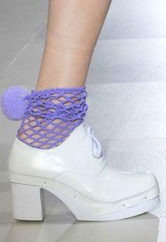 Comme des Garçons  f/w 07 shoes
