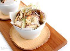 Sweet Potato Tempura with Lemongrass Salt Sweet Potato Tempura, Recipe Details, Lemon Grass, Camembert Cheese, Salt, Potatoes, Japanese, Recipes, Food